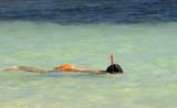snorkel child