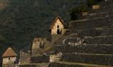 Machu Picchu huts