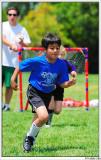 Running for the ball