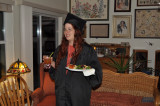 Tracy's graduation with her Masters Degree, December 11, 2009