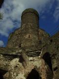 Conwy Castle,interior.