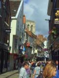 Street in old York.