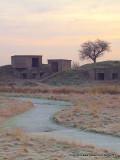 WW2 defences in the dawn