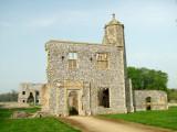 Baconsthorpe Castle ; the gatehouse