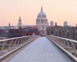 Dawn  light  embracing  St. Paul's.