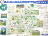 The  Devizes  White  Horse  Information  Board.