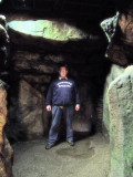West  Kennet  Long  Barrow, the  interior.