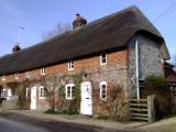 Cottages  in  East  Kennet  village.