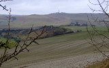Cherhill  and  Monument  from The  White  Horse Trail, on The  Roman  Road