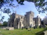 Edington  Priory  Church , looking  east.