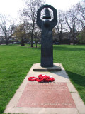 Memorial  to  Russian  dead  in  World  War  2.