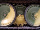WW2  Jagdpanther  interleaved  roadwheels.