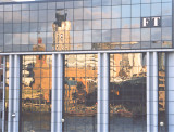 Reflections on the FT building.