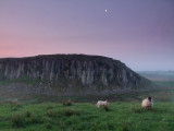 Dawn  light  over  Hadrian's  Wall  Country