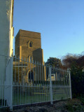 St.Mary's church,from Church Lane.