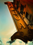 Balboa Theater Sign