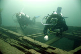 1000 Islands, Ontario Wreck Diving