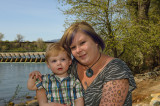 Mom and Gabe 1