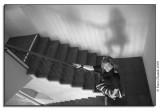 Janie - Shadow - Stairs