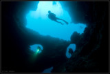 Phantom cave - 3 divers
