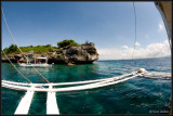 View from dive boat