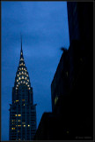Night time Chrysler building