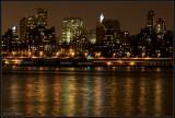 night view near Brooklyn bridge