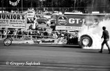 King  Marshall AA FD rear engine burnout BW.jpg