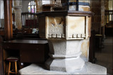 15th Century Font - St. Mary & All Saints