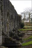 Abbey wall
