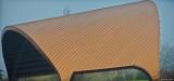 Cuthburt Amphitheatre roof