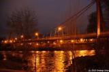 Defasio Bridge and Willamette River