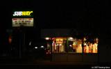 Subway in the dark