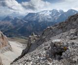09-09 Piz Pordoi 06 Marmolada Glacier.jpg