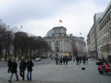 a view toward the Reichstag