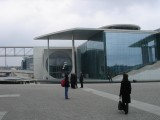 at the Bundestag (Government) complex