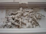 scenes of the battle between gods and giants