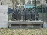 memorial to Berlin Jews sent to Auschwitz and Theresienstadt