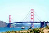 The Golden Gate Bridge & San Francisco Bay