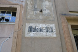 The Malaria building, abandoned...