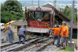 Le wagon No 1 a définitivement quitté ses rails...