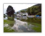 Les Près de la rive inondés