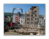 Démolition avant de reconstruire