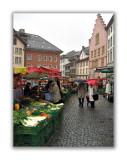 Jour de marché place du Bourg
