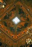 Plafond de la nef de l'escalier