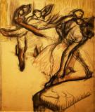 Esquisse de Degas