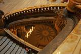 Détail du grand escalier