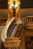 Grand escalier (détail)