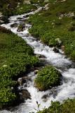 En aval du lac Jovet