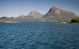 Tustna - view from ferry to Smøla